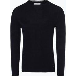 Marc O'Polo Denim - Sweter męski, niebieski. Niebieskie swetry klasyczne męskie Marc O'Polo DENIM, l, z denimu, polo. Za 349,95 zł.