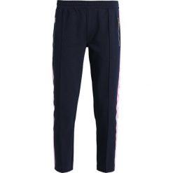 Marc O'Polo DENIM TRACK PANTS  Spodnie treningowe lunar blue. Niebieskie bryczesy damskie Marc O'Polo DENIM, xl, z bawełny. Za 429,00 zł.