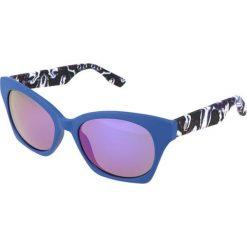 """Okulary przeciwsłoneczne damskie aviatory: Okulary przeciwsłoneczne """"0003/S XJM/TE"""" w kolorze niebieskim"""