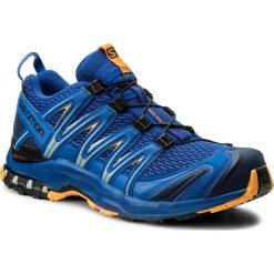 Buty do biegania męskie: Buty SALOMON - Xa Pro 3D 400887 29 V0 Surf The Web/Medieval Blue/Bright Marigold