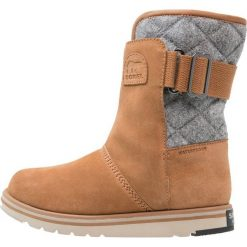 Sorel RYLEE Śniegowce brown. Czarne buty zimowe damskie marki Sorel, z materiału. Za 499,00 zł.