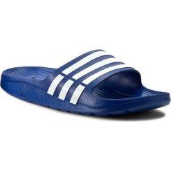 Klapki adidas - Duramo Slide G14309 Trublue/Wht/Trublu. Niebieskie chodaki męskie Adidas, z tworzywa sztucznego. Za 79,95 zł.