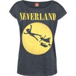 Bluzki asymetryczne: Piotruś Pan Neverland Seattle Koszulka damska odcienie ciemnoszarego