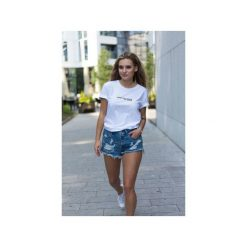 WOMEN CHANGE t-shirt. Białe t-shirty damskie Gau great as you, l, z bawełny. Za 109,00 zł.