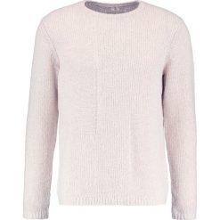 Folk INTERFERENCE CREW Sweter ecru. Brązowe swetry klasyczne męskie Folk, m, z materiału. W wyprzedaży za 450,45 zł.