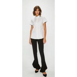 Answear - Koszula Femifesto. Szare koszule damskie w kratkę marki ANSWEAR, l, z bawełny, eleganckie, z krótkim rękawem. W wyprzedaży za 99,90 zł.