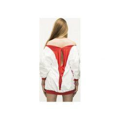 Kobieca bluza DOTS Oversize. Czerwone bluzy rozpinane damskie Aniess, xl. Za 200,00 zł.