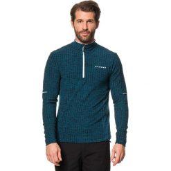 """T-shirty męskie: Koszulka funkcyjna """"Totality Core"""" w kolorze niebiesko-czarnym"""