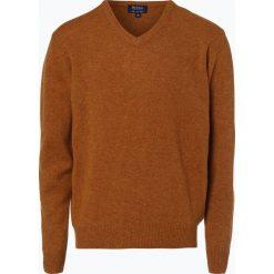 Mc Earl - Sweter męski, złoty. Żółte swetry klasyczne męskie Mc Earl, m, z wełny. Za 129,95 zł.