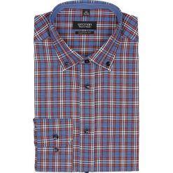 Koszula bexley 2192 długi rękaw custom fit pomarańczowy. Brązowe koszule męskie marki FORCLAZ, m, z materiału, z długim rękawem. Za 69,99 zł.
