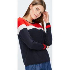 Only - Sweter. Czarne swetry klasyczne damskie ONLY, m, z dzianiny, z okrągłym kołnierzem. Za 119,90 zł.