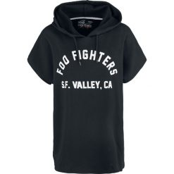 Foo Fighters EMP Signature Collection Koszulka z kapturem damska czarny. Czarne bluzki asymetryczne Foo Fighters, xxl, z nadrukiem, z kapturem. Za 74,90 zł.