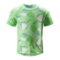 Bielizna dziewczęca: Reima Koszulka Do Pływania Azores Uv 50+ Green 80