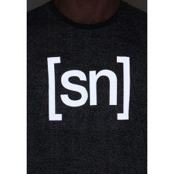 Koszulki polo: super.natural RELAX Tshirt z nadrukiem ash melange/asphalt