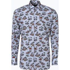Van Graaf - Męska koszula z poszetką, szary. Szare koszule męskie wizytowe marki Guess Jeans, l, z aplikacjami, z bawełny, z klasycznym kołnierzykiem, z długim rękawem. Za 139,95 zł.