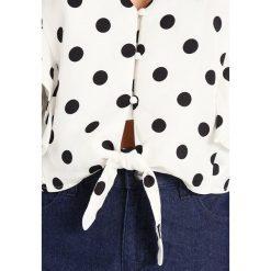 Bluzki asymetryczne: Bardot SPOT TIE Bluzka white