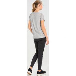 T-shirty damskie: Kaffe FOLIA Tshirt z nadrukiem light grey melange