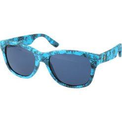 """Okulary przeciwsłoneczne damskie aviatory: Okulary przeciwsłoneczne """"0002/S GWH/KU"""" w kolorze niebieskim"""