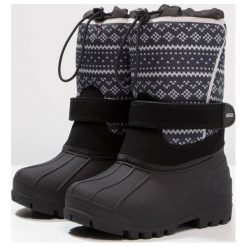 Aigle TALSI  Śniegowce evenes. Niebieskie buty zimowe chłopięce Aigle, z kauczuku. W wyprzedaży za 175,45 zł.