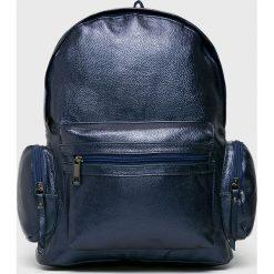 Answear - Plecak. Szare plecaki damskie ANSWEAR, z materiału. W wyprzedaży za 49,90 zł.