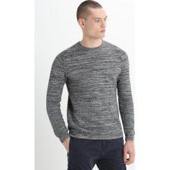 Swetry klasyczne męskie: Burton Menswear London SPACE DYE CREW Sweter grey