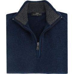 SWETER SWG000012 FILIPPO. Niebieskie swetry rozpinane męskie Giacomo Conti, na jesień, m, z tkaniny. Za 199,00 zł.