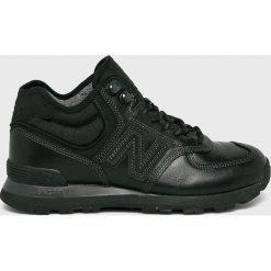 New Balance - Buty. Czarne buty skate męskie New Balance, z materiału, na sznurówki. W wyprzedaży za 399,90 zł.