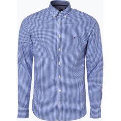 Koszule męskie na spinki: Tommy Hilfiger - Koszula męska – Gingham, niebieski