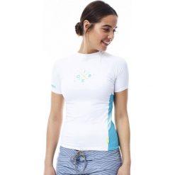Bluzki damskie: JOBE Damska koszulka do sportów wodnych Rashguard Biała M