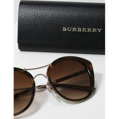 Okulary przeciwsłoneczne damskie aviatory: Burberry Okulary przeciwsłoneczne havana
