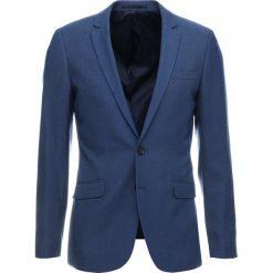 Topman TAYLOR Marynarka garniturowa blue. Niebieskie marynarki męskie slim fit Topman, z materiału. Za 529,00 zł.
