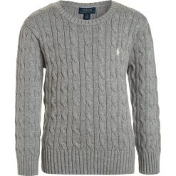 Swetry dziewczęce: Polo Ralph Lauren CABLE Sweter light pastel grey