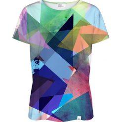 Colour Pleasure Koszulka damska CP-030 14 niebieska r. XXXL/XXXXL. Niebieskie bluzki damskie Colour pleasure. Za 70,35 zł.