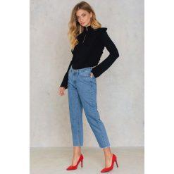 Just Female Jeansy z rozdarciami Rock - Blue. Niebieskie jeansy damskie marki JUST FEMALE, z bawełny. W wyprzedaży za 165,48 zł.