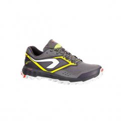 Buty do biegania KIPRUN TRAIL XT 7 damskie. Szare buty do biegania damskie marki KALENJI, z gumy. W wyprzedaży za 199,99 zł.