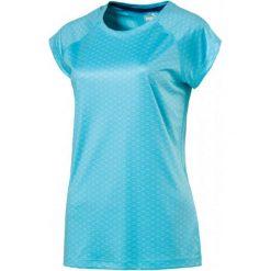 Puma Koszulka Sportowa Graphic Ss Tee W Nrgy Turquoise Aop S. Niebieskie bluzki sportowe damskie Puma, m, z materiału, z dekoltem na plecach. W wyprzedaży za 109,00 zł.