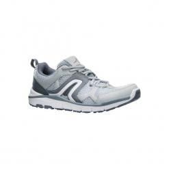 Buty męskie do szybkiego marszu HW 500 Mesh szare. Szare buty fitness męskie marki NEWFEEL, z meshu. Za 149,99 zł.