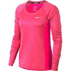 Nike Koszulka damska Dry Miler Top LS różowa r. M (831540-618). Czarne bralety marki Nike, xs, z bawełny. Za 111,26 zł.