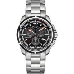 PROMOCJA ZEGAREK CERTINA DS Furious C011.417.27.057.00. Czarne zegarki męskie marki CERTINA, ze stali. W wyprzedaży za 1443,20 zł.