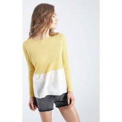 Kardigany damskie: Sweter dwukolorowy Amarillo Stonem