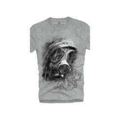 T-shirt UNDERWORLD Ring spun cotton Maska. Szare t-shirty męskie z nadrukiem marki Underworld, m, z bawełny. Za 59,99 zł.