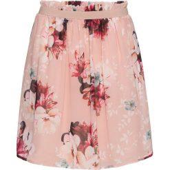 Spódniczki: Spódnica szyfonowa bonprix jasnoróżowy w kwiaty