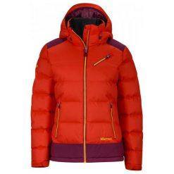 Marmot Wm's Sling Shot Jacket Poppy/Magenta M. Czerwone kurtki damskie softshell Marmot, m, z puchu. W wyprzedaży za 949,00 zł.