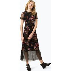Vila - Sukienka damska, czarny. Czarne sukienki marki Vila, s, w kwiaty. Za 439,95 zł.