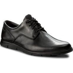 Półbuty CLARKS - Vennor Walk 261317487 Black Leather. Czarne półbuty skórzane męskie marki Clarks. W wyprzedaży za 279,00 zł.
