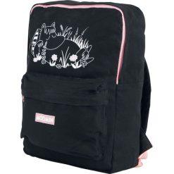 Torebki i plecaki damskie: Muminki Moomin Plecak czarny/różowy