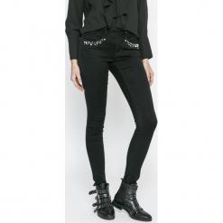 Only - Jeansy. Czarne jeansy damskie rurki ONLY, z bawełny. W wyprzedaży za 139,90 zł.