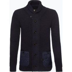 Swetry rozpinane męskie: G-Star – Kardigan męski, niebieski