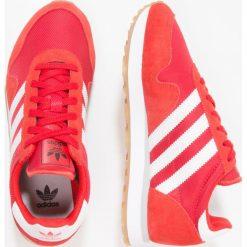Adidas Originals HAVEN Tenisówki i Trampki red/footwear white. Czerwone tenisówki męskie marki adidas Originals, z materiału. W wyprzedaży za 167,40 zł.