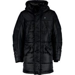 GStar WHISTLER HDD PARKA Płaszcz zimowy black. Czarne parki męskie G-Star, na zimę, m, z materiału. W wyprzedaży za 609,95 zł.